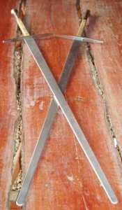 aluminium sword