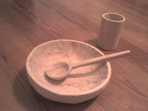 spoon, bowl, cup