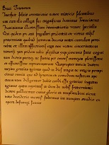 Diplomatic letter