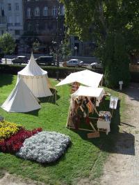 Középkori tábor a belvárosban
