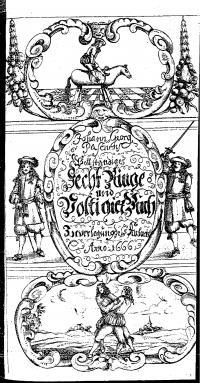 Vollstaendiges Fecht- Ring- und Voltigierbuch