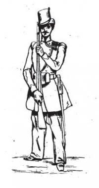 Règlement sur l'exercice et les manoeuvres des régiments d'infanterie, de carabiniers et de chasseurs à pied: première partie