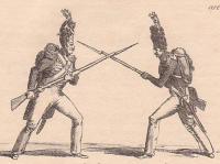 Maniement de la baionnette, appliqué à l'attaque et à la defense de l'infanterie