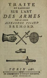 Traité en raccourci sur l'art des armes