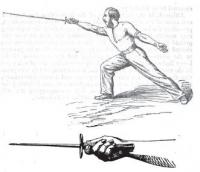 A system of fencing, for the use of instructors in the Army