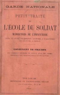 Petit traité de l'école du soldat, Manœuvres de l'Infanterie