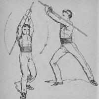 Manuel de gymnastique théorique et pédagogique, comprenant la gymnastique sans appareils et avec appareils, les exercices militaires, la natation, le bâton, la boxe, l'escrime á l'épée etc.