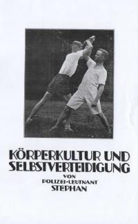 Körperkult und Selbstverteidigung Übungen zur Durchildung der Muskulatur und zur Stahlung des Körpers, die wichtigsten Griffe der Jiu-Jitsu-Kapmweise