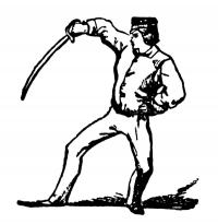 How to fence. Containing full instruction for fencing, and the use of the broadsword: also instruction in archery. Described with twenty-one practical illustrations.