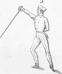 Anleitung zum Fechten mit dem Säbel und dem Kürassierdegen, zuvörderst dem Unterrichte in Kavallerie-Abtheilungen angeeignet, nebst Bemerkungen für den ernstlichen Kampf zu Fuß und zu Pferde