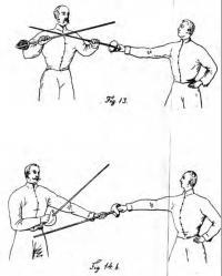 Handbok för undervisning i sabelfäktning till fot