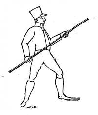 Methodo de manejar a lança ou pique : para intelligencia de todos os que quizerem fazer hum uso seguro das referidas armas.