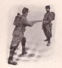 Méthode de combat á la baionnette