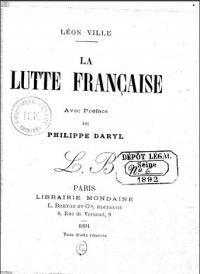La lutte Française