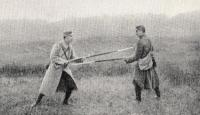 L'arme blanche dans la grande guerre - Méthode simplifiée de baïonnette
