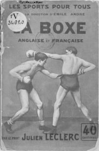 La boxe anglaise et française