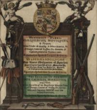 Maniement d'armes d'arquebases, mousquetz et picques. En conformite de l'ordre de monseigneur le prince Maurice, prince d'orange