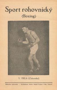 Sport rohovnický : (boxing)