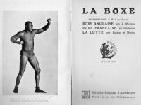 La boxe (et la lutte)