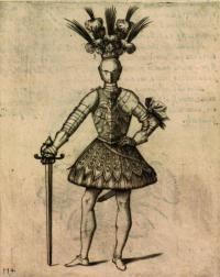 Il torneo. Cavaliere nel teatro di pallade del ordine militare et accademico