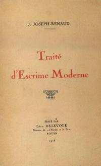 Traité d'escrime moderne