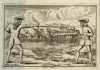 Libro de armas y doctrina para el resguardo de los afficionados de dicha ciencia con contras y explicaciones de toda la arte que se encierra en la espada, hecho por un afficionado