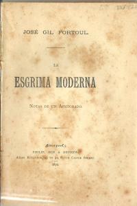 La esgrima moderna: notas de un aficionado
