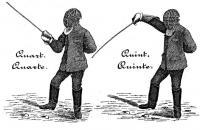 Instruction sur l'escrime au sabre [contre-pointe], avec réglement pour le concours