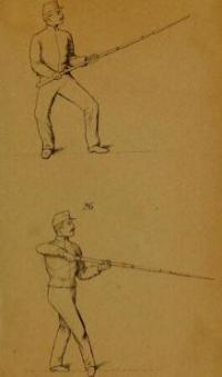 Instruktion i gymnastik och bajonettfäktning för infanteriet
