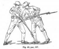 Manual of bayonet exercises and musketry fencing by Captain Herschel Tupes