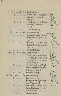 Turnerische Aufführungen : Stockfechten ; französische Schule ; geturnt am 26. April 1903 zum Stiftungsfest des