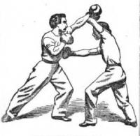 Sparring : or, The theory and practice of the art of self defence : a complete guide : classified and explained in a most simple manner