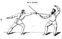 Praktische Anleitung zum Unterricht im Stoßfechten. Nach der bei der königl. Central-Turnanstalt eingeführten Lehrmethode