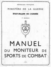 Manuel du Moniteur de Sports de Combat