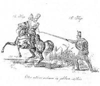 Szuronyvítan a ̓gyalogság számára, t.i. a ̕puskának vífegyvergyanánti használata, gyalog és lovas ellen