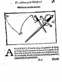 Epitome de la enseñanza de la filosofia y destreza, matematica de las armas que ha de dar el maestro al dicipulo