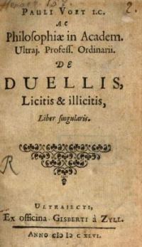 De duellis. Ex omni juri decisis casubus, liber singularis, editione iterata auctus, et emendatus