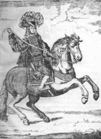 Libro nuevo bueltas de escaramuza, de gala, a la gineta, compuestas por Don Bruno Joseph de Morla Melgarejo... prácticadas en la Plaza la mui noble, e mui leal Ciudad de Xerez de la Frontera