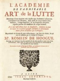 L'Academie de l'admirable Art de la Lutte