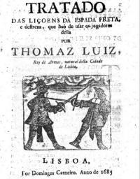 Tratado das liçoens da Espada preta, e destreza com que hăo de usar os jogadores della
