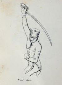 Instructions for the sword exercise: selected from His Majesty's rules and regulations, and expressly adapted for the yeomanry