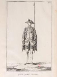 Exercice de l'infanterie Françoise. Copié d'apres l'original in folio