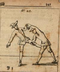Fechtkunst, oder Anweisung in Stoss und Hieb, wie auch zum Ringen und Voltigiren