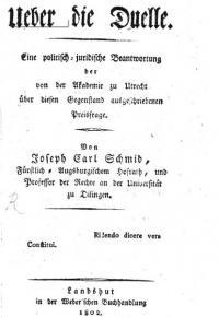 Über die Duelle. Eine politisch-juridische Beantwortung der von der Akademie zu Utrecht über diesen Gegenstand ausgeschriebenen Preisfrage