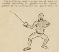 De ontwikkeling der schermkunst in Nederland alsmede de techniek en tactiek van het schermen