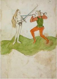 Ein altes Fecht-, Kampf- und Ringbuch