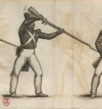 L'escrime appliquée à la baïonnette au bout du fusil