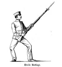 Instruktion für den Betrieb der Gymnastik und des Bajonetfechtens bei der königlich bayerischen Infanterie