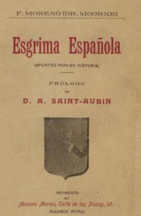 Esgrima española