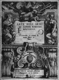 Opera Nova dell'Arte delle Armi di Achille Marozzo Bolognese 4A 940